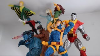 Creating a Marvel Legends Display : XMEN #2