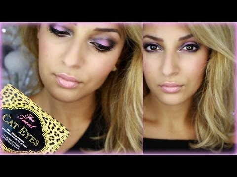 Pinky Black Cat's Eyes Night Make Up ☾ Touche De Rose ! video