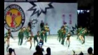 MMSU Pep Squad at the NCC Open Qualifiers 2008