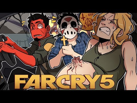 BIRTH OF THE ANTI-CHRIST! | Far Cry 5 (Coop w H2O Delirious) EP 9