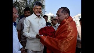 AP CM Chandrababu Naidu Governor Narasimhan Meeting Ends  l Updates