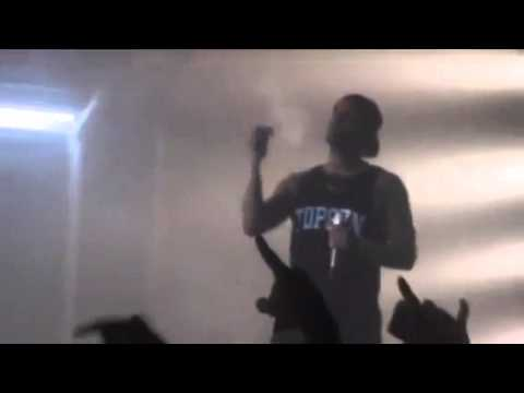 Drake smoking weed the first time