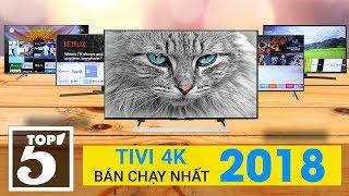 """SONY """"vô địch"""" top 5 tivi 4K bán chạy nhất Điện máy Xanh 2018"""