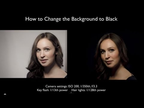 Studio Photography On Location: Part 2: Black Backgrounds