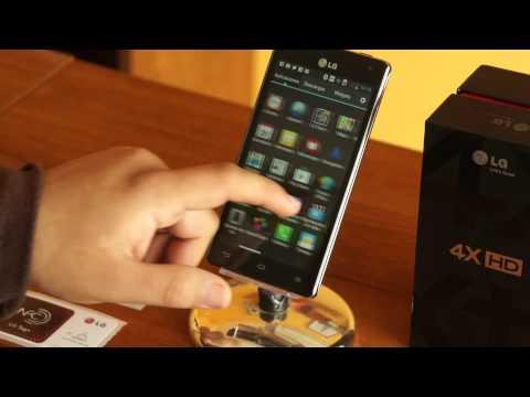 LG optimus 4X. completo análisis en español