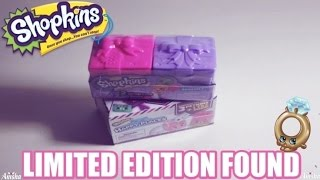LIMITED EDITION FOUND | Shopkins Season 7 and Happy Places Season 2 Blind Bags