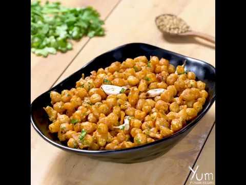 Dhaba Style Chana Fry
