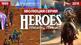 Эволюция серии игр Heroes of Might and Magic (1995 - 2015)