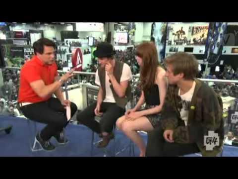 John Barrowman interviews Matt Smith, Karen Gillan Arthur Darvill SDCC 2012