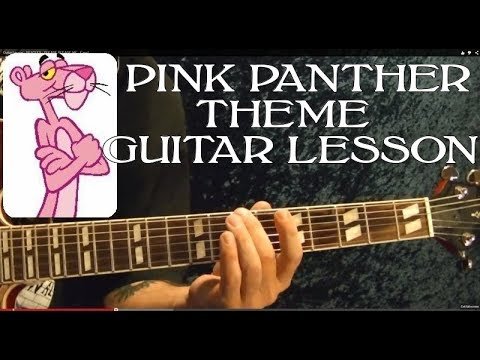Pink Panther Theme - Easy Guitar Lesson With Tabs video