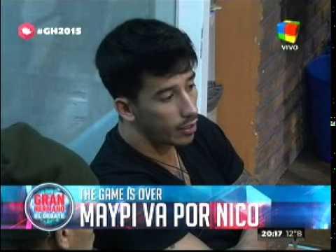 """""""Gran Hermano 2015"""": ¿Maypi sería capaz de nominar a Nicolás?"""