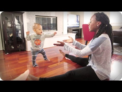 Learning To Walk!!! video