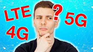 4G vs LTE vs 5G? What's the difference?