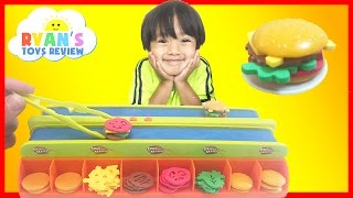 BURGER MANIA BOARD GAME with Ryan ToysReview
