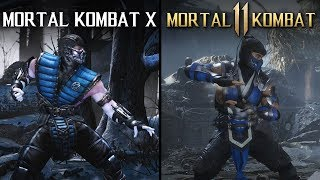 Mortal Kombat 11 vs Mortal Kombat X | Direct Comparison