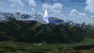FSX-Austrian Alpines Soaring Course in Photoreal-1080p-Beautiful Landscapes