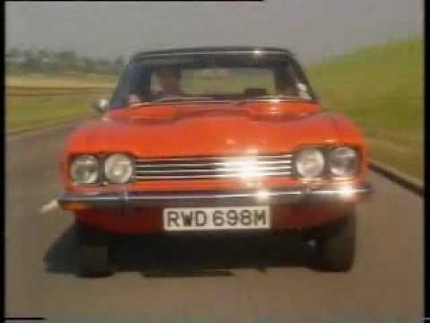 BBC TV - 'The Car's the Star' - Ford Capri - 1997  (Old Top Gear)