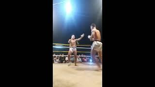 Myanmar Lethwei vs Muay Kard Chuek - Byag Ga ( Myanmar ) vs Sam Korn ( Thai )