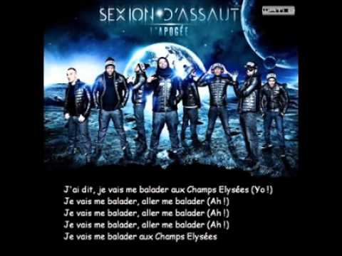 image video j'aime balader sexion d'assaut
