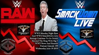 WWE News And Rumors Report! WWE Monday Night Raw And WWE SmackDown Live Ratings Continue To Go Down!