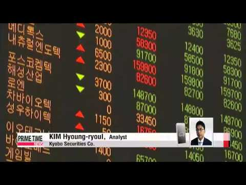 Korean shares break record high