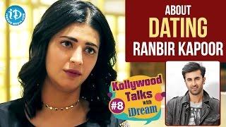 Shruti Haasan About Dating Ranbir Kapoor | Kollywood Talks With iDream #8