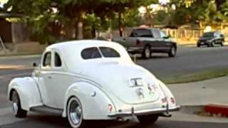 1939 ford standard coupe driving