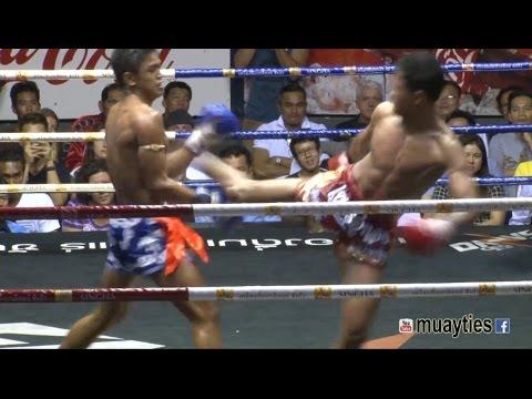 Muay Thai Fight - Petch U Thong Vs Sangmanee, Rajadamnern Stadium Bangkok - 30th March 2015