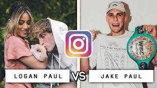 Logan Paul vs Jake Paul Instagram Video Compilation / Who's the Best