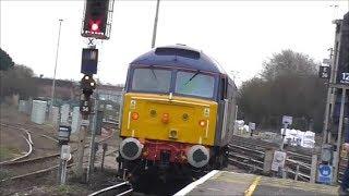 47815 (0O86 Leicester-Eastleigh Arlington) @ Eastleigh - 21/1/19