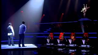 The Voice Thailand : Django,Kheang - Doraemon Song -30 Sep 2012