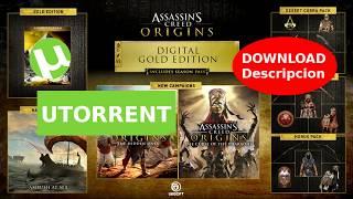 Assassins Creed Origins Gold Edition [ESPAÑOL - 1 LINK - UTORRENT]