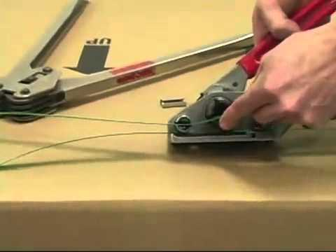 how to use a banding machine