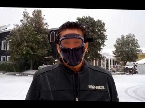No Fog motorcycle goggles face protection below freezing