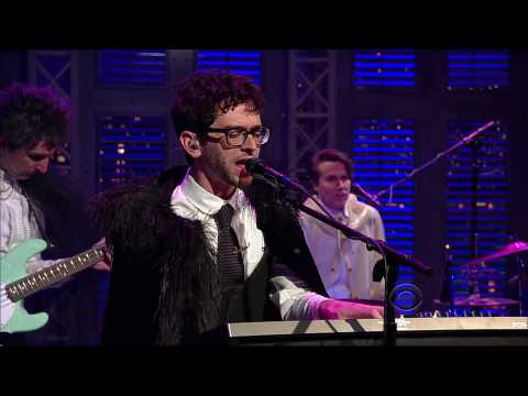 MGMT - &quot;Brian Eno&quot; 5/11 Letterman (TheAudioPerv.com)