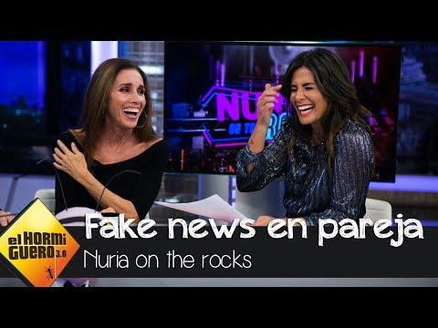 Nuria Roca, alucinada con los titulares tras decir que iba a terapia de pareja - El hormiguero 3.0