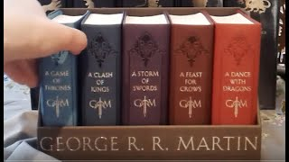Game of Thrones (A Song of Ice and Fire) Bantam Edition Book Set (New York, 2015)