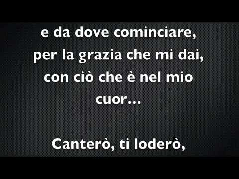 Canterò (i Will Sing) - Don Moen - Base Musicale video