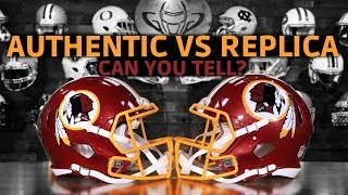 Authentic Vs Replica Football Helmet | What's The Difference?