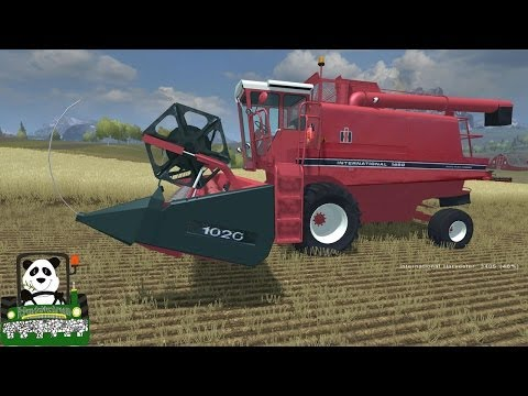 Farming Simulator 2013 Mod Review International Harvester 1480 v 1 1 MP