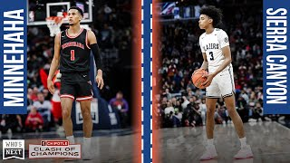 Jalen Suggs and Minnehaha battle BJ Boston and Sierra Canyon - ESPN Highlights