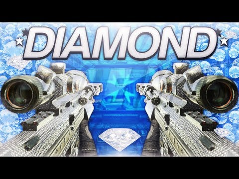 Black Ops 2 Diamond Sniper Rifles (How To Get Diamond Camo Sniper Rifles)
