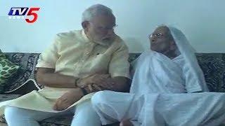 PM Modi In Gujarat  To Take Motherand#39;s Blessings