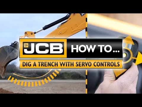 JCB How to dig a trench