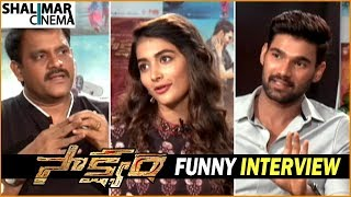 Saakshyam Movie Team Funny Interview || Bellamkonda Sai Sreenivas, Pooja Hegde, Sriwass