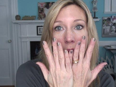 Gel Nail Polish Manicure Review ~ Salon