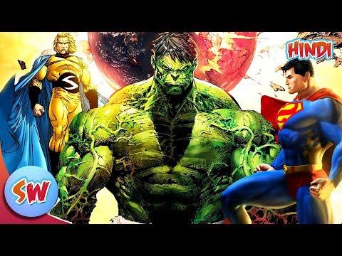 Top 10 Strongest Superheros in Hindi | Top 10 List in Hindi | Comics in Hindi