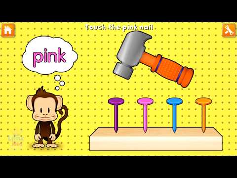 Kids Learn Letters Numbers Colors Shapes with Monkey Preschool - Fun Educational Game for Toddlers