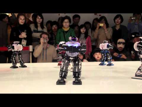 Robots Dance to K-Pop Music