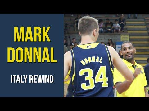 Mark Donnal Italy Rewind 2014